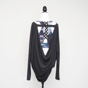 Aritzia Wilfred Super Soft Drape Back Shirt